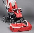 Kinderwagen met wiegje. Kindje kan 2 kanten opkijken