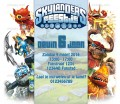 Skylanders Feestje uitnodiging met eigen naam (8, 12 of 16 st)