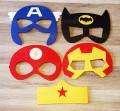 Vilten superhelden maskers