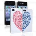 Set van 2 aansluitende iPhone hoesjes Hart I love you