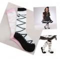 Leuke kniekousen / kniesokken ballet schoenen model
