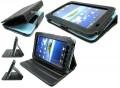 Samsung Galaxy Tab beschemhoes met ingebouwde verstelbare standaard + GRATIS LCD folie