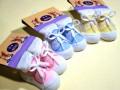 Baby Schoensokken. SUPER LEUK! 4 kleuren