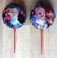 Frozen ballonnen op stokjes