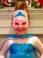 Vilten Ijsprinses Masker