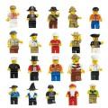 5 stuks Speelfiguren passend op bekende merken