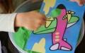 Kleuren met zand - leuke activiteit voor kinderen